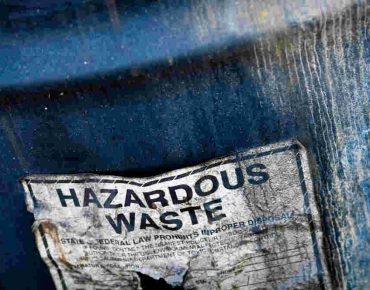 hazardous waste removal in london