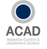 ACAD ASBESTOS CONTROL AND ABATEMENT DIVISION LOGO