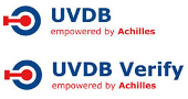 UVDB ACHILLES ACCREDITATION LOGO FOR SAFE WORKING