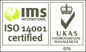 ISO 14001 ACCREDITATION LOGO