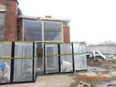 Asbestos Enclosure & Removal | Romford Industrial Unit